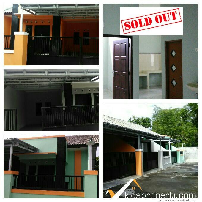 Rumah Jakal Jogja Dekat Perum Merapi View