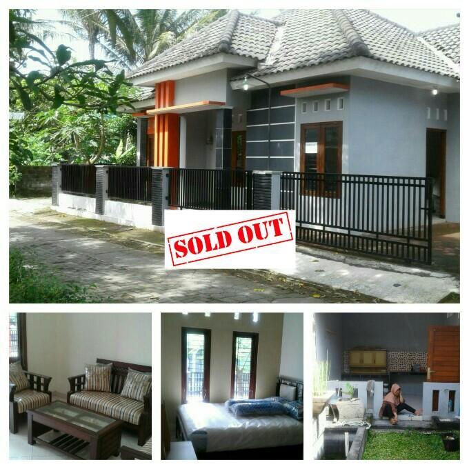 Dijual Rumah Sleman Jogja Full Bonus Furniture dan Perabotan
