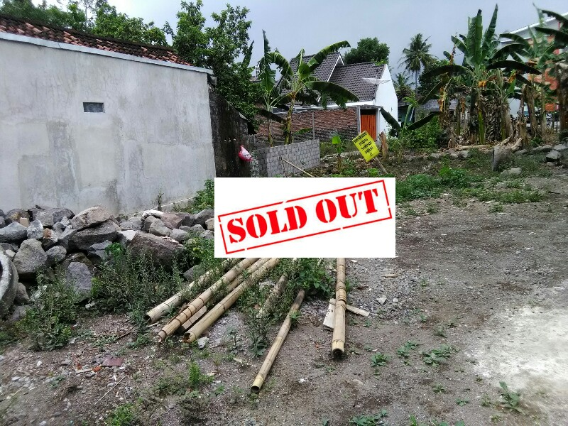 Tanah Klidon Ngaglik Sleman Dekat Kampus UII Yogyakarta