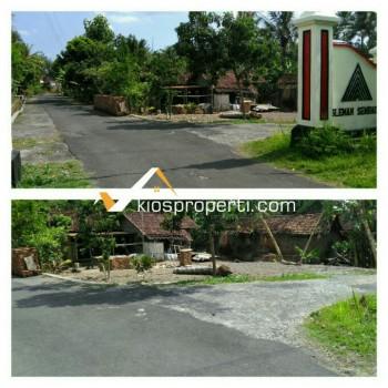 Tanah Hook 587 M² Di Sleman Barat Dekat Godean Hill