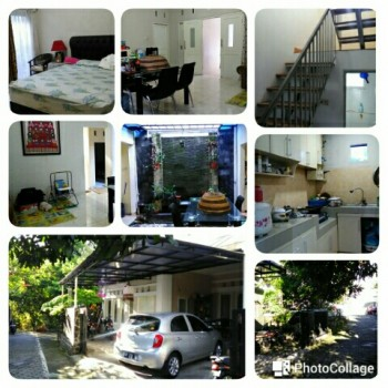 Rumah 2 Lantai Belakang Hotel Hyatt Jogja Luas 210 M²