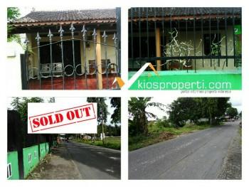 Dikontrakkan Rumah Strategis Pinggir Jalan Raya Argomulyo Sedayu Bantul