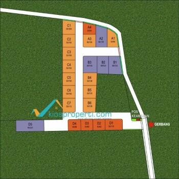 Kavling Griya Gonjen Tamantirto Dekat Kampus UMY Area Dalam Ringroad Jogja