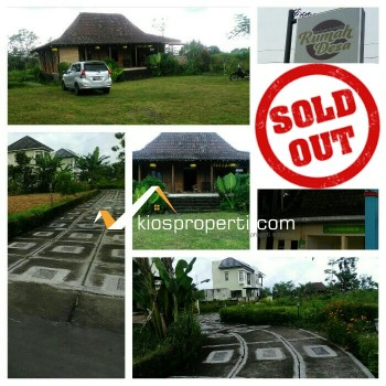 Villa Rumah Desa Rumah Joglo Di Jalan Palagan Sleman Yogyakarta